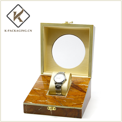 Wooden Jewelry watch box with Lock
