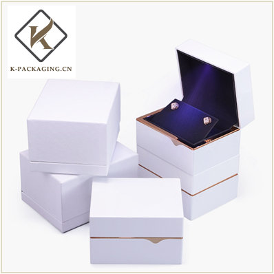 Golden Ring rubber painting LED Ring box